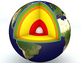 Earth Structure 3D model
