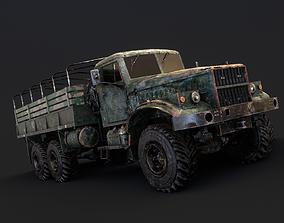 KRAZ Military Truck 3D asset