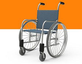 Wheelchair Rig 3D asset