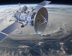 Orbiting Satelite 3D