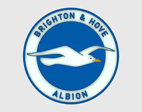 Brighton Logo 3D model
