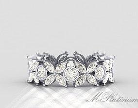 3D print model Tiffany Ring 049