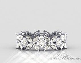 3D printable model Tiffany Ring 049