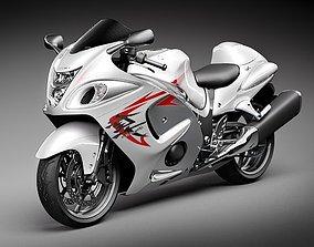 3D model Suzuki Hayabusa
