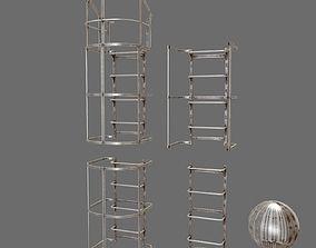 ladder system 3D model