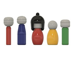 3D print model Kokeshi Dolls
