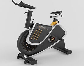 Stationary bicycle 3D model