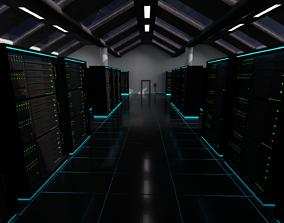 3D model storage Server Room