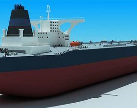 Cargo ship 3D