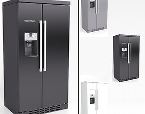 3D Refrigerator Side-By-Side Kuppersbusch KJ 9750-0-2T