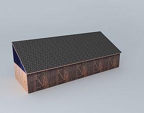 Sheds in Sisak 3D model