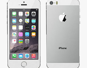 Apple iPhone 5S Silver 3D model