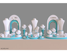 Lamira 2 jewelry display concept 3D print model