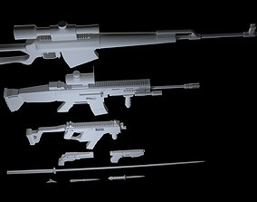 3D CGI Animation Weapons Pack