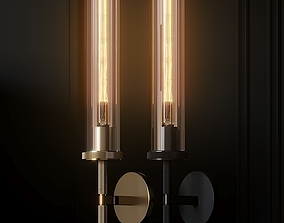 Lambeth Knurled Grand Wall Sconce 3D