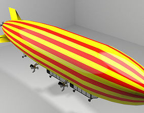 Zeppelin - Commercial 3D model