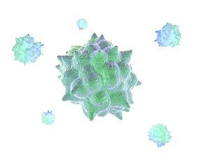 3D Animation Virus