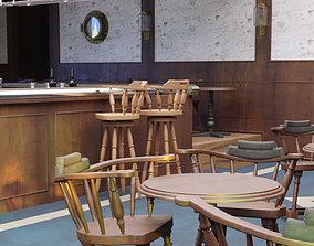 Pub scene 3D model