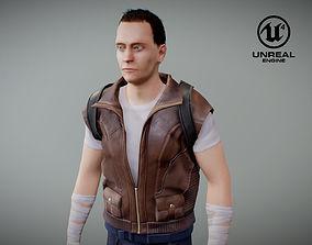 3D model Survivalist