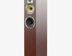 3D Bowers and Wilkins CM 7 Wenge