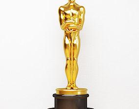 Figurine Oscar 3D model