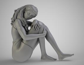 Alone Girl 3D print model