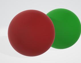 Molecules scientific 3D print model