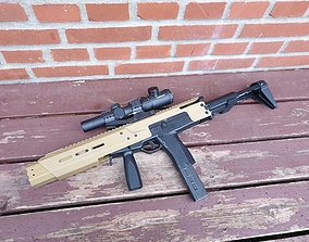 3D print model MP9 Carbine