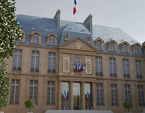 Elysee French Republic Palace 3D