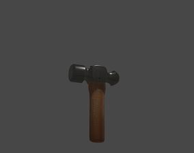 3D model Realistic Hammer