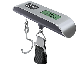 3D case Hanging Luggage Weight Scale