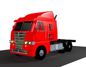 Heavy Truck Low Poly 3D asset