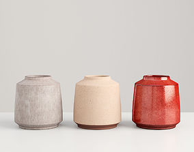 Vase Collection - three kinds 3D model