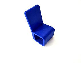 Chair Single Line 3D print model