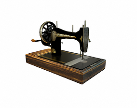 Singer 15CD Sewing Machine 3D model