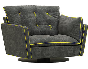 Baxter SORRENTO armchair 3D