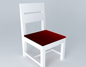 Chair Simple Modified 3D model
