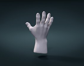 High Poly Hand 3D printable model