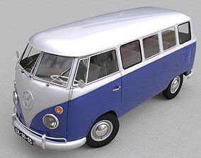 VOLKSWAGEN TRANSPORTER DELUXE 13 WINDOWS 3D