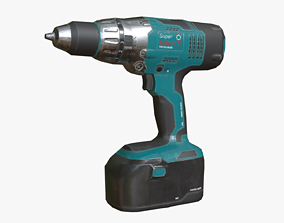 Electrical Drill 3D model