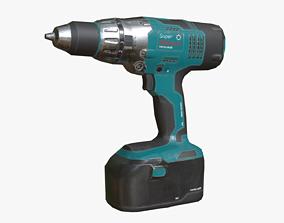 Electrical Drill 3D asset