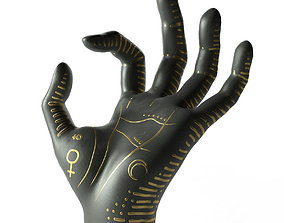 3D Palm Reading and Jewelry Holder