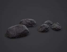 3D model Black Coal