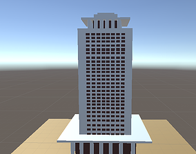 3D model Egyptian Foreign Ministry building