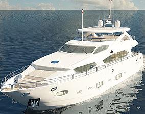 Sunseeker 30m Yacht 3D
