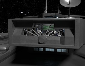 StarGate F-304 Daedalus Battlecruiser Bridge 3D