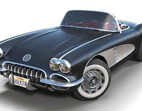 3D model Classic sport car PBR