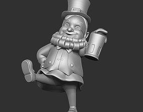 Character Leprechaun Drunk Cartoon Elf 3D model