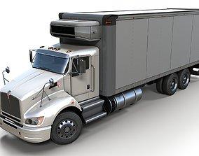 Kenworth t440 box truck 3D asset