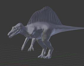 3D Jurassic Park III spinosaurus model